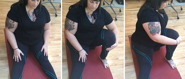 Modifications for yoga twists (and tips on making friends with your belly)