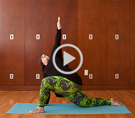 Free, 25-minute morning yoga practice video