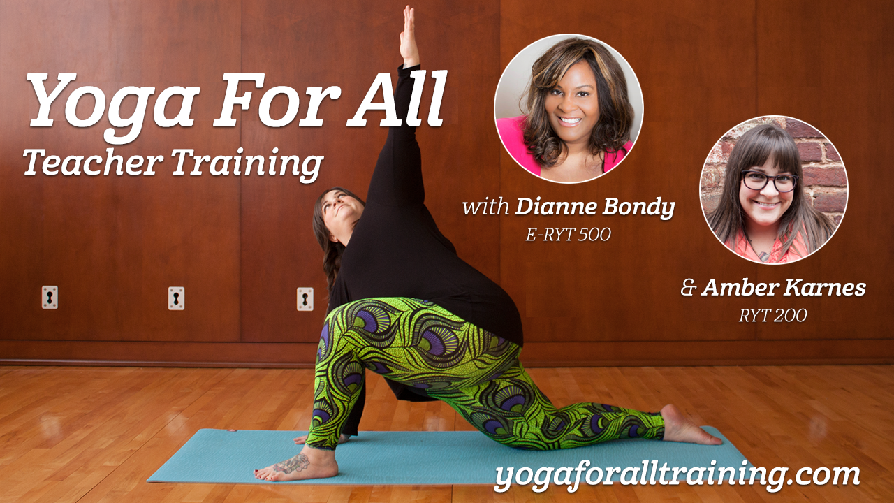 Join me and Dianne Bondy for a #yogaforall Twitter chat