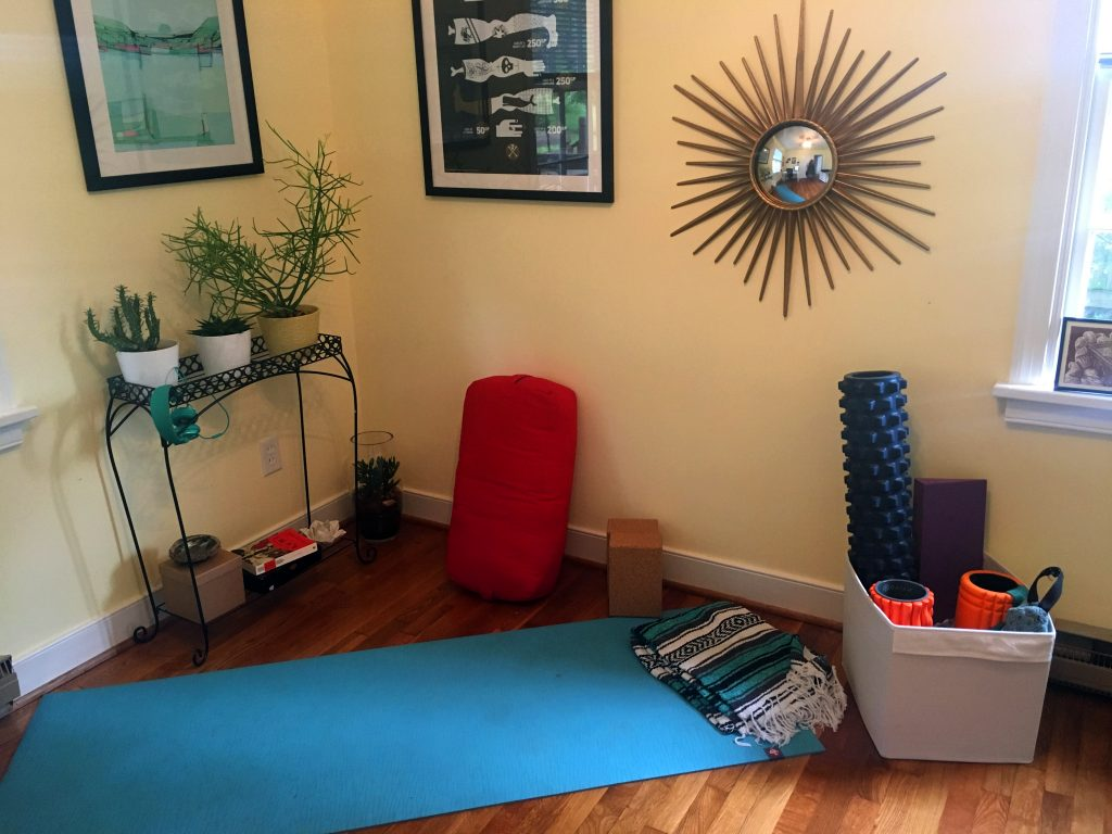 How to design your home yoga studio - Body Positive Yoga