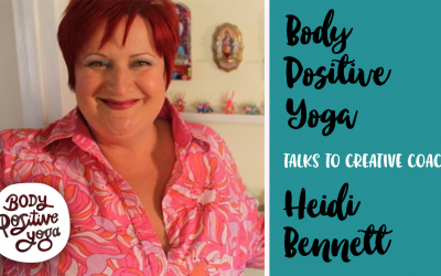 Creative coach Heidi Bennett on self-compassion & the creative process